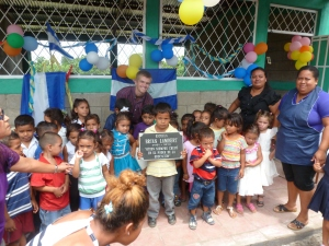 The opening ceremony for the Brian Lambert pre-school
